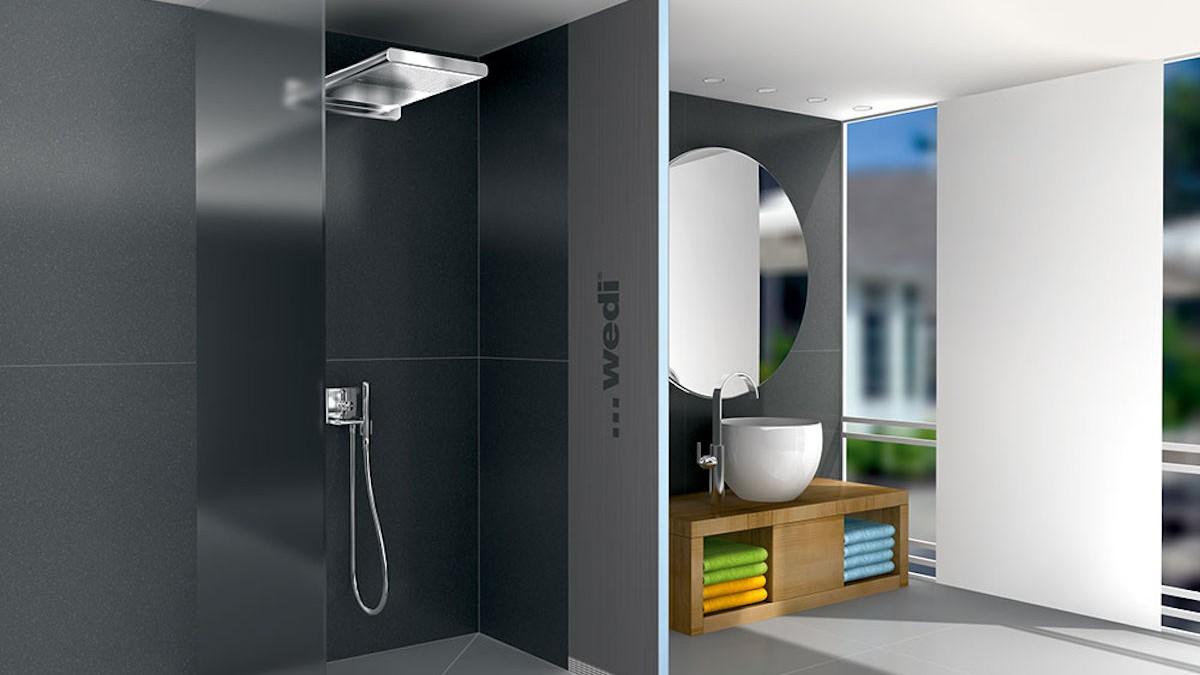 panneaux de wedi finest panneau de coffrage tuyau de salle de bain mensolo l ou u de wedi with. Black Bedroom Furniture Sets. Home Design Ideas