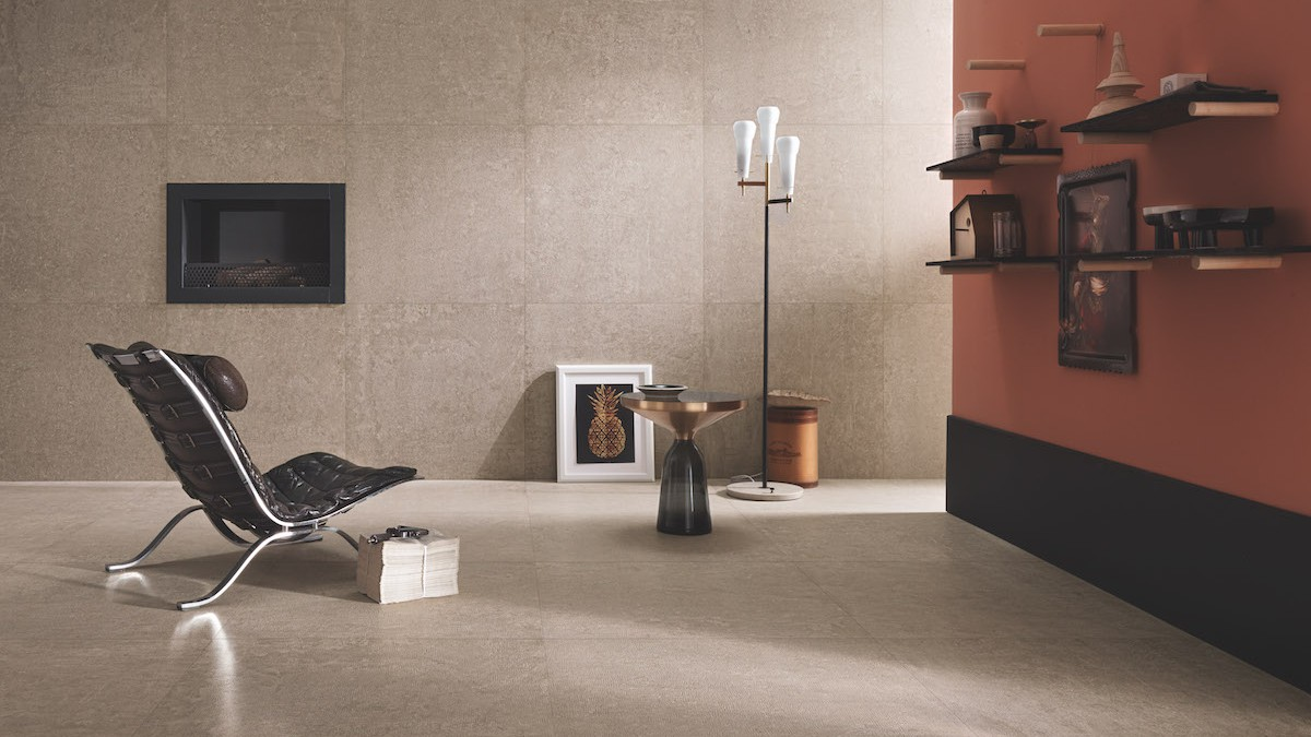 Maroldt carrelage cotto d este x beton pour living for Carrelage living