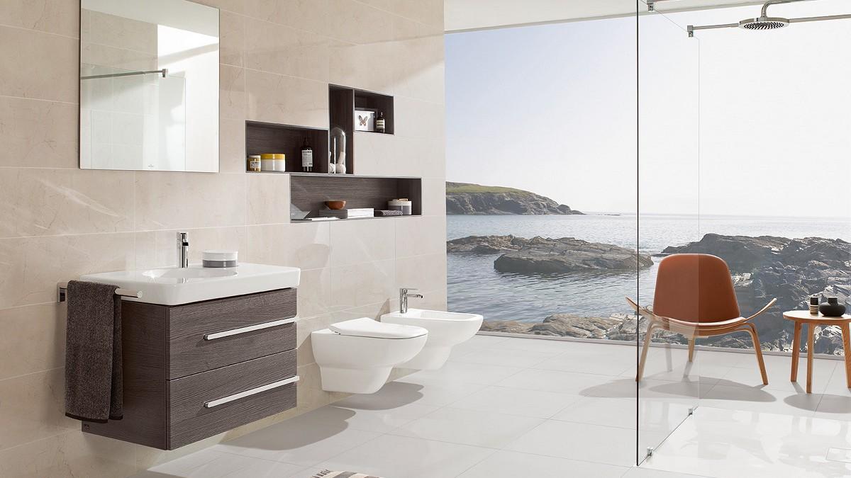 Maroldt salle de bains carrelages villeroy boch avalon for Carrelage villeroy et boch salle de bain
